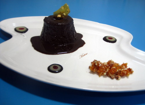 Sticky Toffee Pudding Plated Dessert Restaurant Outsource