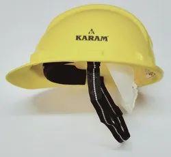 Safety Helmet Nape Strap Yellow