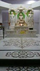 Handmade Jain Marble Temple