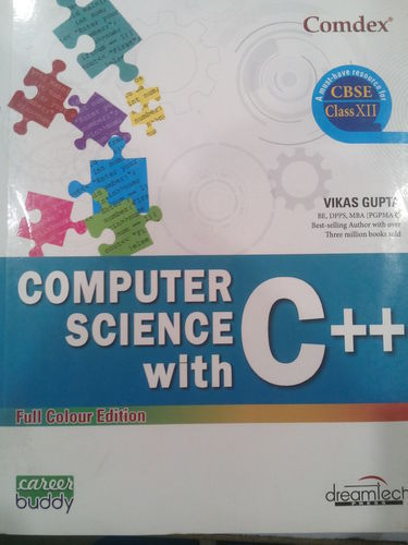Computer Science Book Class 12