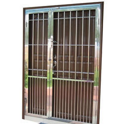 Stainless Steel Door Grill At Rs 3000 Meter Seelanaickenpatti