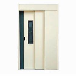 Mild Steel Telescopic Door