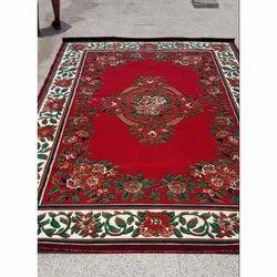 Printed Rectangular Woolen Designer Carpet