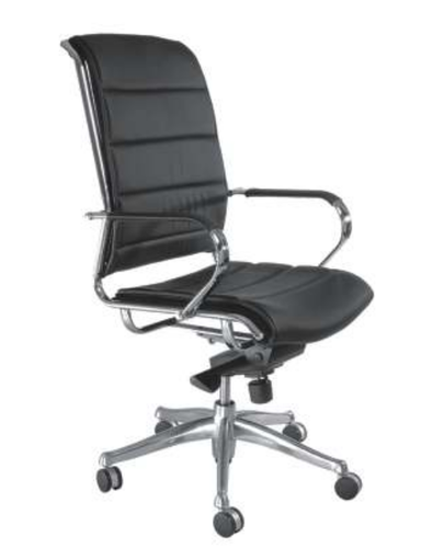 Leather Hydraulic Office Chairs Foldable Yes