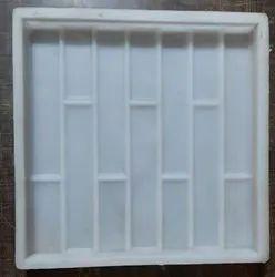 Silicone Plastic Brick Design Tile Mould