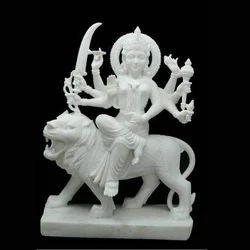 Maa Durga White Statue