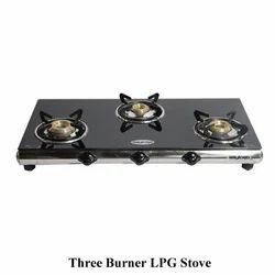 Three Burner LPG Stove