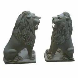 Marble Lion Statue