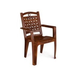 CHR 2196 Brown Plastic Chair