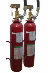 HFC227EA A FM200 Fire Suppression System, Capacity: 34 Litre