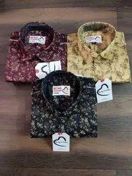 Male Printed Cotton Shirt