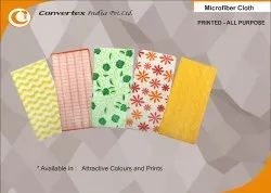 Microfiber Cleaning Cloth : Printed