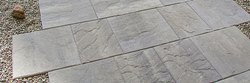 Slab Gray Stone Slabs, for Flooring, Thickness: 16 mm