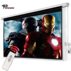 Punnkk E8 120 inch (8x6 ) FT  Motorised Projection Screen with taxes, COD all India