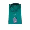 Men's Green Cotton Shirt