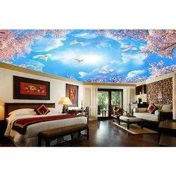 3D Ceiling Wallpaper