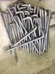 Galvanized Iron L Type Foundation Bolt