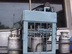 Bagi Automatic Milk Can Lid Opening Machine, Capacity: 500 litres/hr, 1 Hp 1440 Rpm