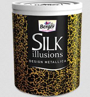 Berger Silk Illusions Design Metallica Paint - Shree Balaji