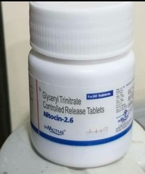 Glyceryl Trinitrate Controlled Release Tablet