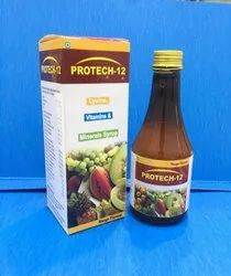 PROTECH 12- MULTIVITAMIN SYRUP