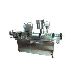 Automatic 4 Head Liquid Filling And Single Capping Machine