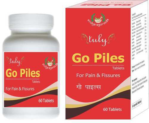 Go Piles Tablets, Atulya Medilink Private Limited | ID