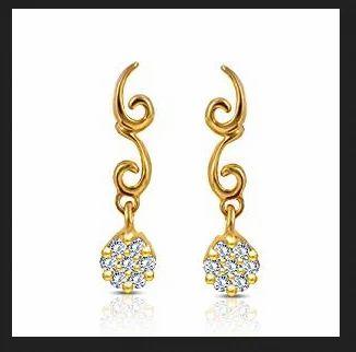 Joyalukkas impress collection 22k yellow gold stud earrings shree joyalukkas impress collection 22k yellow gold stud earrings aloadofball Images