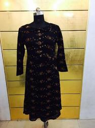 Full Sleeves Woolen Kurti