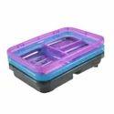 Plastic Soap Dish 3 Racks