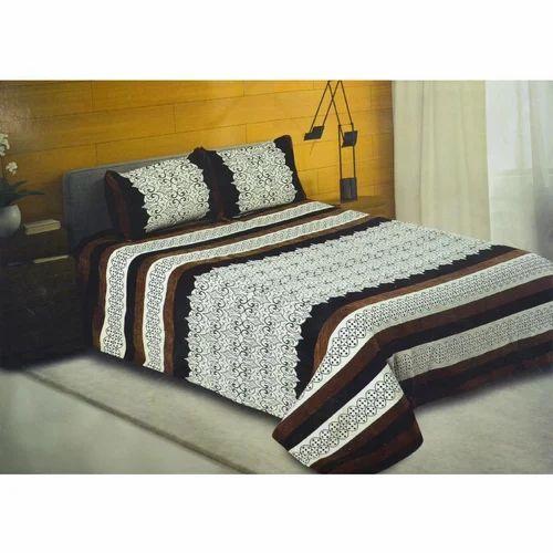 Splash Ornate Damask Bed Sheet