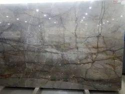 Grey Saran Collin Marble