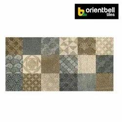 Orientbell DGVT ASCOT MULTI Highlighter Floor Tiles, Size: 600X1200 mm