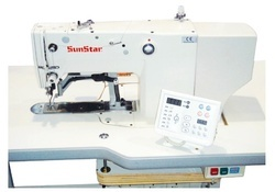 Electronically Controlled, Bartack Sewing Machine