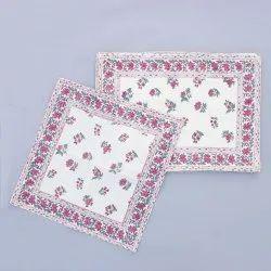 Cotton Handicrafts Table Mat with Napkins Set