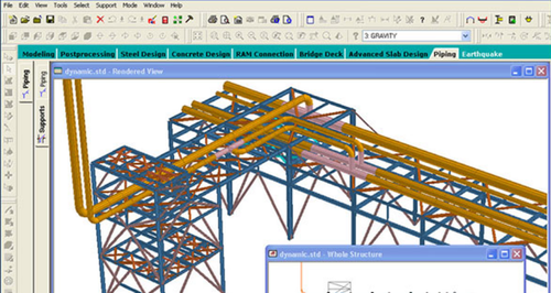 Staad Pro Software, Customized Software Solution - Intercad