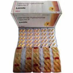 Allopathic Loperamide Hydrochloride Capsules IP, Packaging Size: 10x5x10, Grade Standard: Medicine Grade
