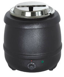 Black Round Electric Soup Kettle, For Commercial