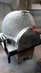 Domestic Wood Fired Pizza Oven