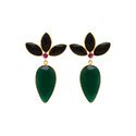 Emerging Attractive Models Earring Made In Pure 925 Sterling Silver Micron Gold Plated