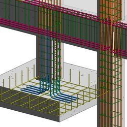 Steel Fabrication 3D Designing Services