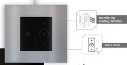 Black Capacitive Havells Touch Switch, For Home, 230V