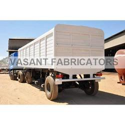 Box Body Semi Trailer