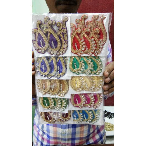Cotton Embroidered Embroidery Blouse Patches Rs 120 Packet Id