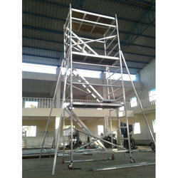 Stairway Aluminum Scaffolding Tower