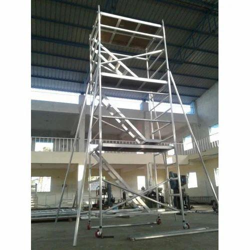 Aluminium Scaffolding - Stairway Aluminium Scaffolding Tower