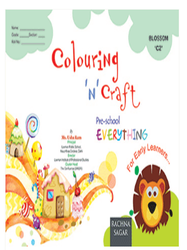 Together With Everything Blossom C2 Colouring N Craft Book