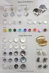 Golden Plastic Fancy Button, For Garments, Packaging Type: Packet
