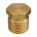 Brass Hex Head Plug