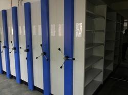 Compactor File Storage Rack